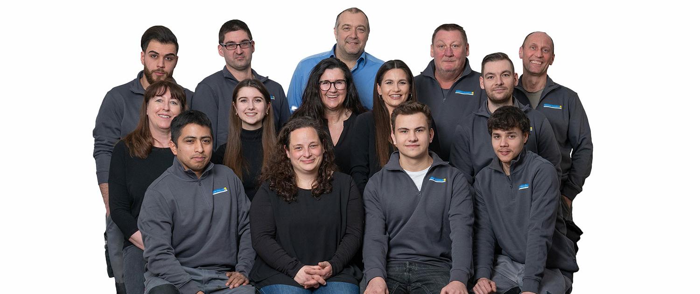 Haustechnik Breu - Mitarbeiterteam